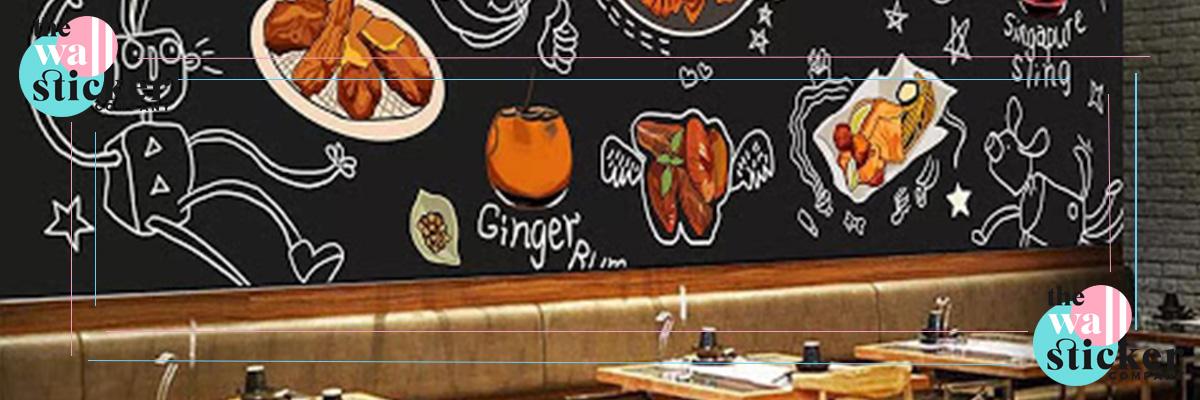 پوستر دیواری غذا